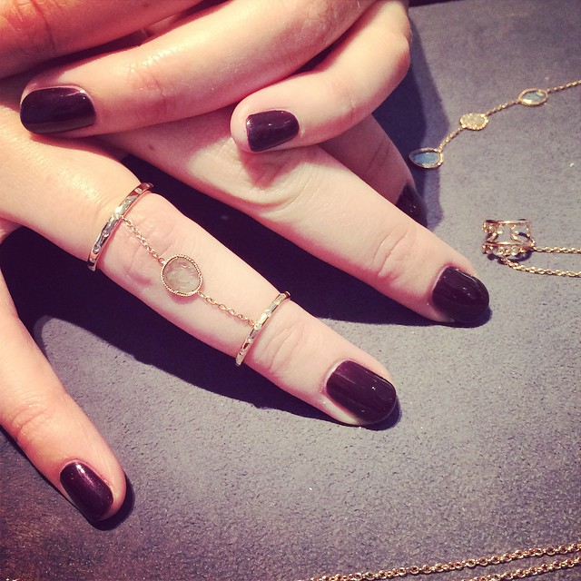 Double the ring. Double the fun #GajnerFineJewels #lovegold